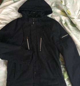 Куртка и жилет мужской 50-52р