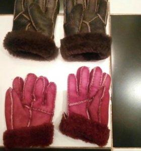 Перчатки натуральные овчина .по   350 р
