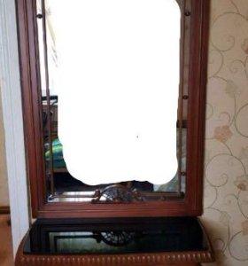 Консоль / туалетный столик с зеркалом