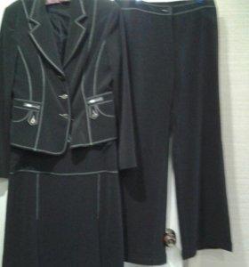 Школьный костюм, юбка, брюки, пиджак