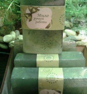 Мыло с натуральными добавками