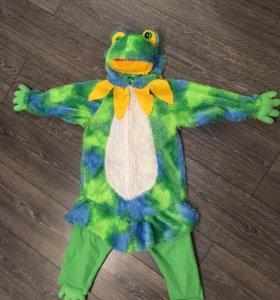 Карнавальный костюм лягушонок на 1-2 годика