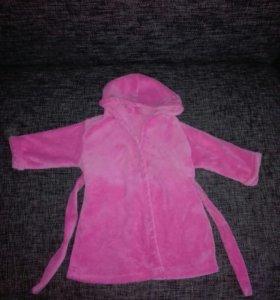 Милый розовый халатик