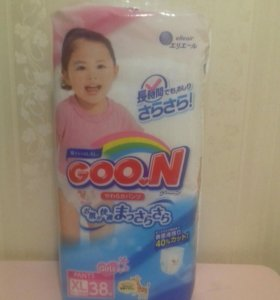 Подгузники-трусики Goon для девочек