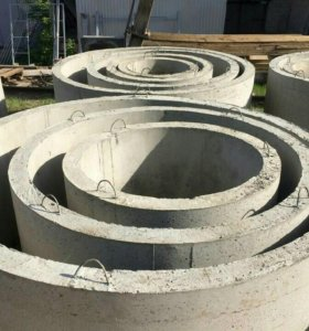 Бетонные кольца от производителя. Все размеры!