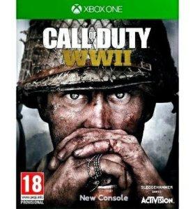 Игра Call of Duty (COD) wwii для Xbox One / One S