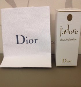 Новая парфюмерная вода Dior J'adore Eau de Parfum