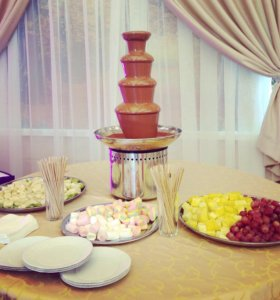Шоколадный фонтан на праздник!