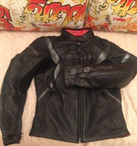 Мотокуртка жен segura lady кож 40-42 размер