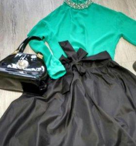 Блузка, юбка, сумка!!!!!SALE!!!!!