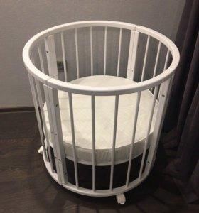 Детская кроватка-трансформер(НОВАЯ)