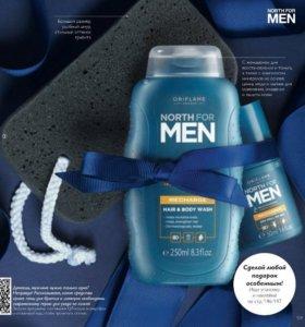Шампунь для волос и тела,дезодорант Men отОрифлэйм