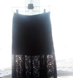 Гепюровая юбка