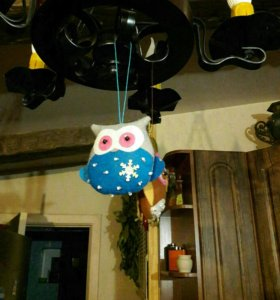 Подарок. Ёлочная игрушка OWL