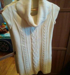 Платье вязаное,кофта
