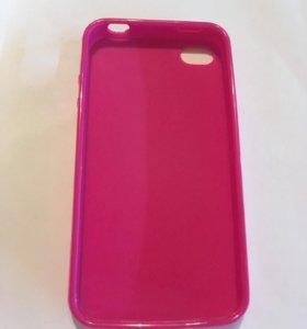 Чехол для iPhone 4/4s розовый