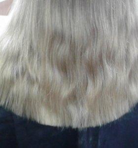 Волосы от 30 см.