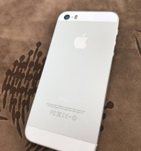 iPhone 5s silver 16гб