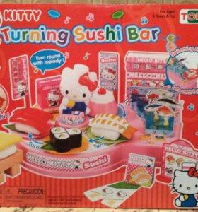 Новая игрушка Hello Kitty суши бар