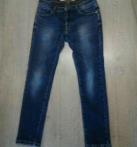 Мужские утепленые джинсы