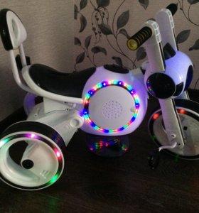Электромотоцикл-велосипед Bubble