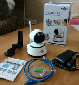 Новая IP видеокамера Wi-Fi. Hiseeu FH2A. Виде няня