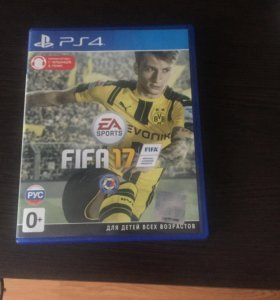 Диск ps4 FIFA 2017