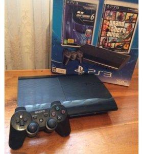PlayStation 3. 500gb прошит + 15 игр
