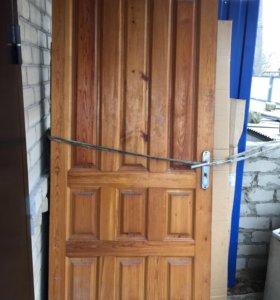 Двери входные .