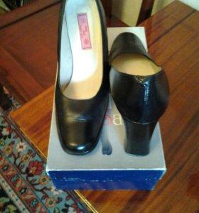 Туфли женские натур. кожа