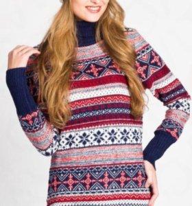 Новый теплый свитер