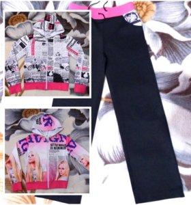 Спортивный костюм (тройка) для девочки