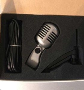 Микрофон ретро-студия (новый)
