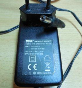 Блок питания - адаптер 12v-1,5A Moso
