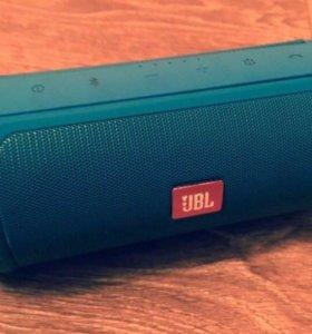 JBL портативная Charge 2+ цвет зеленовато-голубой