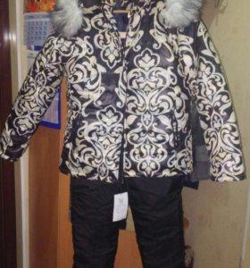 Зимний костюм новый 52-54рр