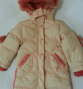 Пуховик пальто детское.
