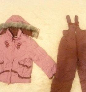Костюм зимний комбинезон+куртка