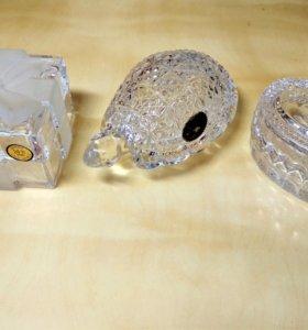 Мини шкатулки из чешского хрусталя