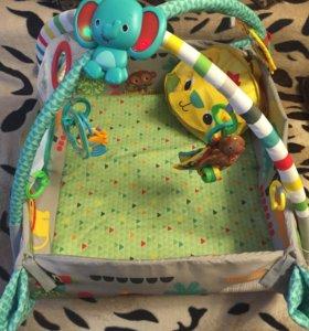 Развивающий коврик для детей от 0 лет