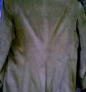 Пиджак вельветовый.