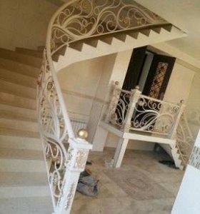 Художественная ковка, лестницы, ворота, заборы