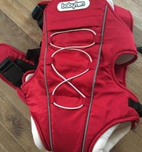 Рюкзак-переноска Babyton 809 красный