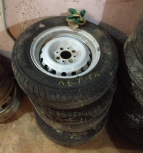 4 колеса на Ваз