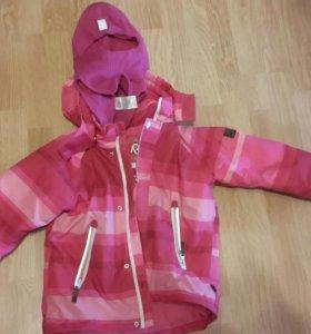 Зимняя куртка Reima для девочки 116