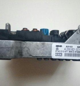 Регулятор оборотов вент.печки Mercedes a2308210251