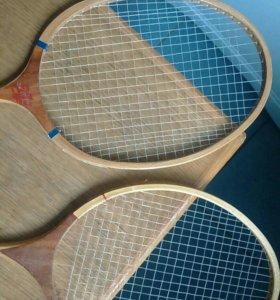 Теннисные ракетки + кофр (СССР)