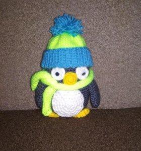 Игрушка вязаная Пингвин