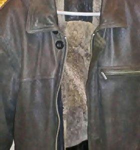 Мужская натуральная куртка