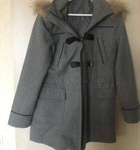 Пальто+шапка+шарф